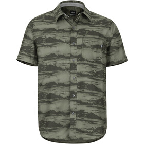 Marmot Syrocco SS Shirt Herren crocodile mountains